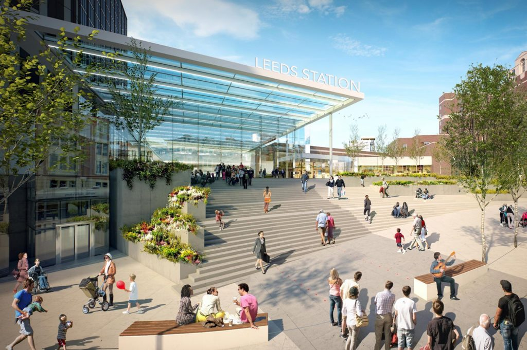 Leeds station redevelopment